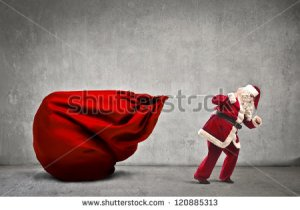 stock-photo-santa-claus-dragging-his-very-large-full-of-presents-120885313