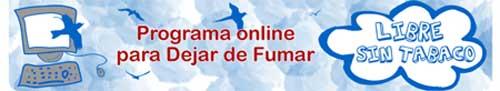 PROGRAMA ON LINE PARA DEJAR DE FUMAR 50O
