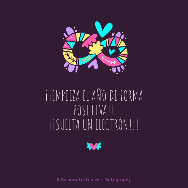 new year electron